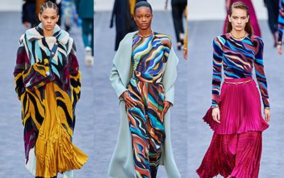 Женская одежда Roberto Cavalli осень-зима 2019-2020