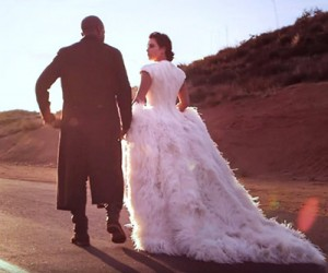 Kim Kardashian и Kanye West на страницах Vogue US