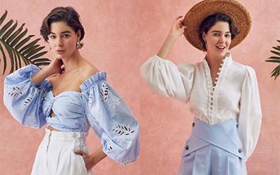 Модная пляжная женская одежда Dahlia Bianca лето 2021