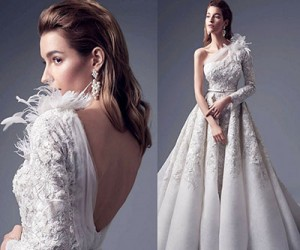 Свадебные и вечерние платья Alfazairy 2017