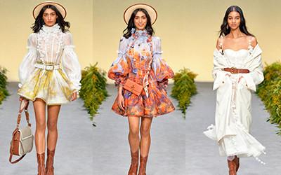 Женская одежда Zimmermann весна-лето 2021