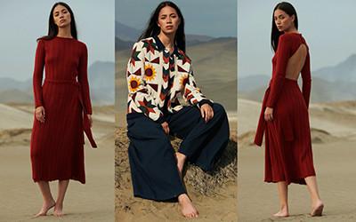 Женская одежда ESCVDO осень-зима 2021-2022