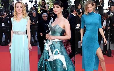Образы гостей церемонии закрытия Каннского кинофестиваля 2019