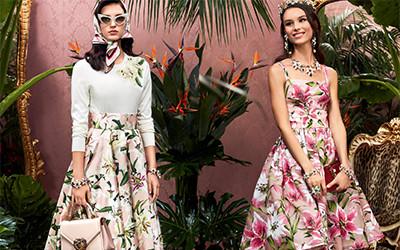 20 самых нарядных и желанных образов из коллекции Dolce & Gabbana осень-зима 2019-2020
