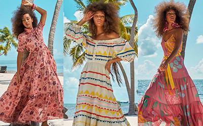 Красивая пляжная одежда из коллекции Carolina K Resort 2020