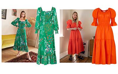 Красивые летние платья миди 2020 из коллекции Kitri