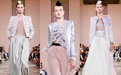 Вечерние платья и костюмы Armani Prive Haute Couture осень-зима 2019-2020