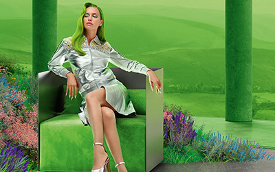 Irina Shayk на страницах журнала Vogue Russia