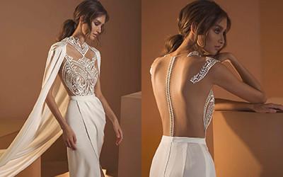 Восхитительные свадебные платья в стиле бохо-шик из коллекции Dror Kontento 2020