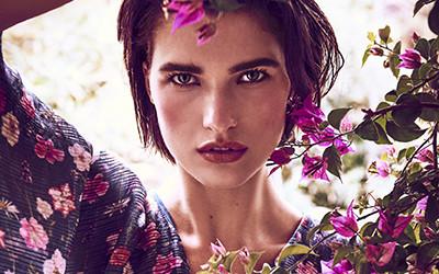 Julia Van Os для журнала Harper's Bazaar Germany