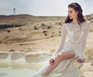 Летняя коллекция свадебных платьев Liz Martinez 2014