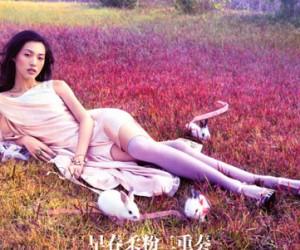 Tian Yi для журнала Vogue China