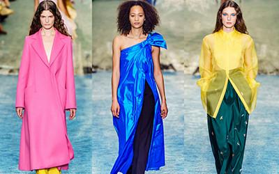 Женская одежда Carolina Herrera осень-зима 2019-2020