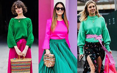 Топ 10 самых популярных цветовых сочетаний