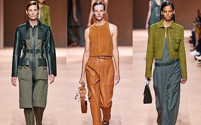 Женская одежда Hermès весна-лето 2020