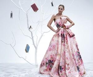 Вечерние платья Isabel Sanchis весна-лето 2015