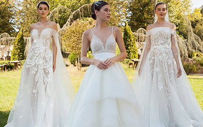 Свадебные платья Georges Hobeika осень-зима 2020-2021
