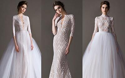15 роскошных свадебных платьев Ersa Atelier весна-лето 2020