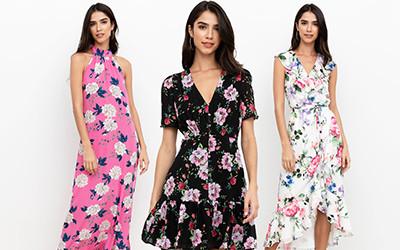 15 платьев в цветочный принт на весну Yumi Kim 2020