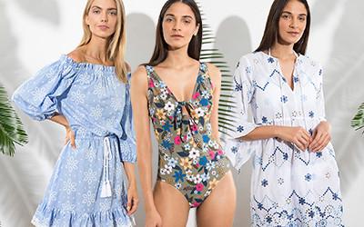 Модные платья и купальники Shoshanna весна-лето 2019
