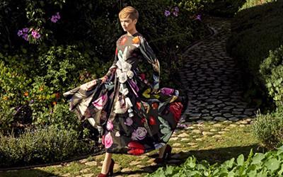 Ruth Bell на страницах журнала Harper's Bazaar US
