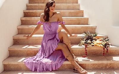 Модные пляжные платья Sundress лето 2021