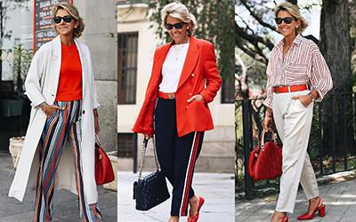 Модные образы в брюках для женщин за 50 от Margarita Argüelles