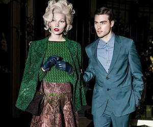Aline Weber на страницах Vogue Brasil