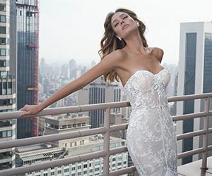 Коллекция свадебных платьев Netta BenShabu осень-зима 2019-2020