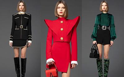 Роскошные вечерние платья и костюмы Andrew Gn осень-зима 2021-2022
