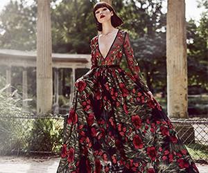 Вечерние платья Raquel Balencia осень-зима 2018-2019