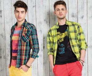 Мужская одежда Guess лето 2013