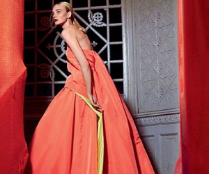 Caroline Trentini для журнала Vogue US