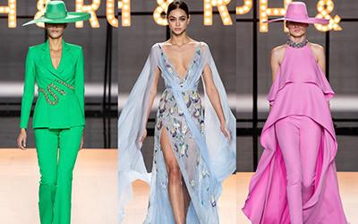 Вечерние платья и костюмы Ralph & Russo Haute Couture весна-лето 2019