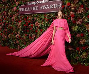 Красная дорожка церемонии Evening Standard Theatre Awards 2018
