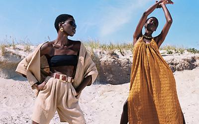 Стильные пляжные образы из коллекции Mara Hoffman Pre-Fall 2021
