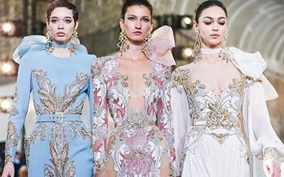 Вечерние платья и костюмы Elie Saab Haute Couture весна-лето 2020