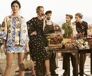 Рекламная кампания Dolce & Gabbana весна-лето 2014