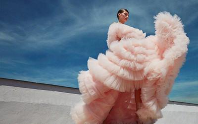 Valery Kaufman на страницах журнала Harper's Bazaar Czech