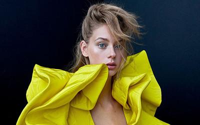 Lauren de Graaf в фотосессии для журнала Vogue Taiwan