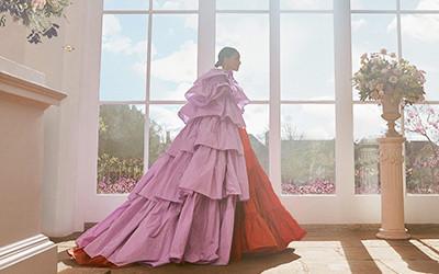 Cora Emmanuel на страницах журнала Harper's Bazaar UK