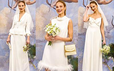 Свадебные платья в винтажном стиле Rixo осень-зима 2021-2022