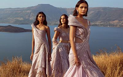 Роскошные вечерние платья Gaurav Gupta Haute Couture весна-лето 2021