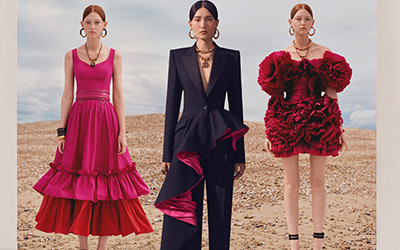 Женская одежда Alexander McQueen Resort 2020