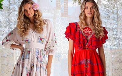 Женская одежда в стиле бохо Fillyboo весна-лето 2021
