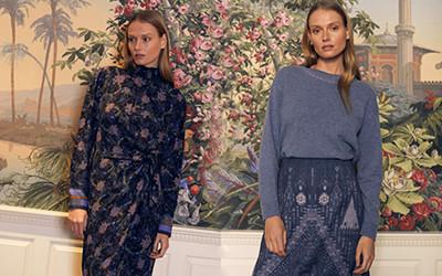 Модная женская одежда Kobi Halperin осень-зима 2021-2022