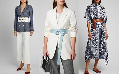 Как стильно носить широкий ремень женщинам?