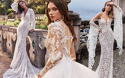 Свадебные платья с длинным рукавом 2020