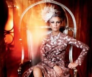 Lys Inger для журнала Vogue Russia supplement