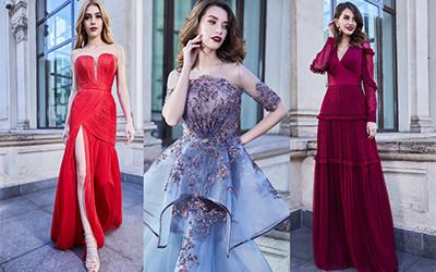 Вечерние платья Cristallini осень-зима 2019-2020